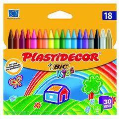Cera pástica Kids 18 colores