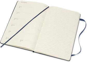 Agenda anual Moleskine Pocket Inglés Semana Azul