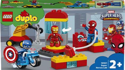 LEGO Duplo Marvel Laboratorio de Superhéroes (10921)