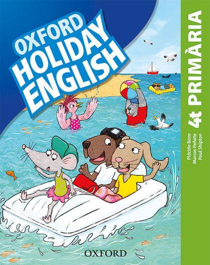 HOLIDAY ENGLISH 4 PRIM CAT 3ED REV Oxford 9780194546430