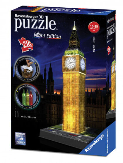 Puzzle 3D Ravensburger Big bien Noche