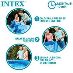 Piscina Intex Easy 305X61Cm Con Filtro y Bomba