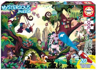 Puzzle Educa Mysterious Puzzle Bosque Mágico  (200 piezas)