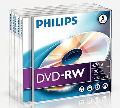 DVD-RW Philips Gravable