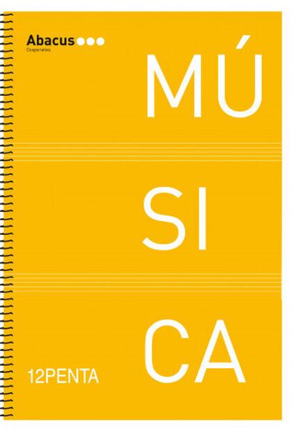 Libreta espiralAbacusMúsica Folio 20F