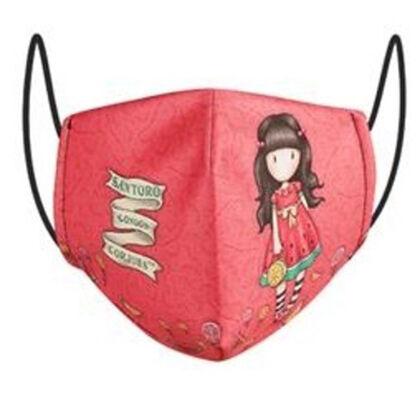 Mascarilla Roja Summer Gorjuss (6-9 años)