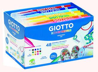 Rotuladores Giotto Decor Textile Schoolpack 48 unidades