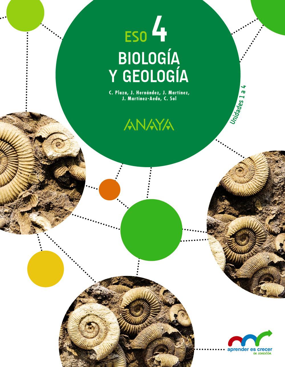 Biología Y Geología 4º Eso Anaya Text 9788469810750 Abacus Online