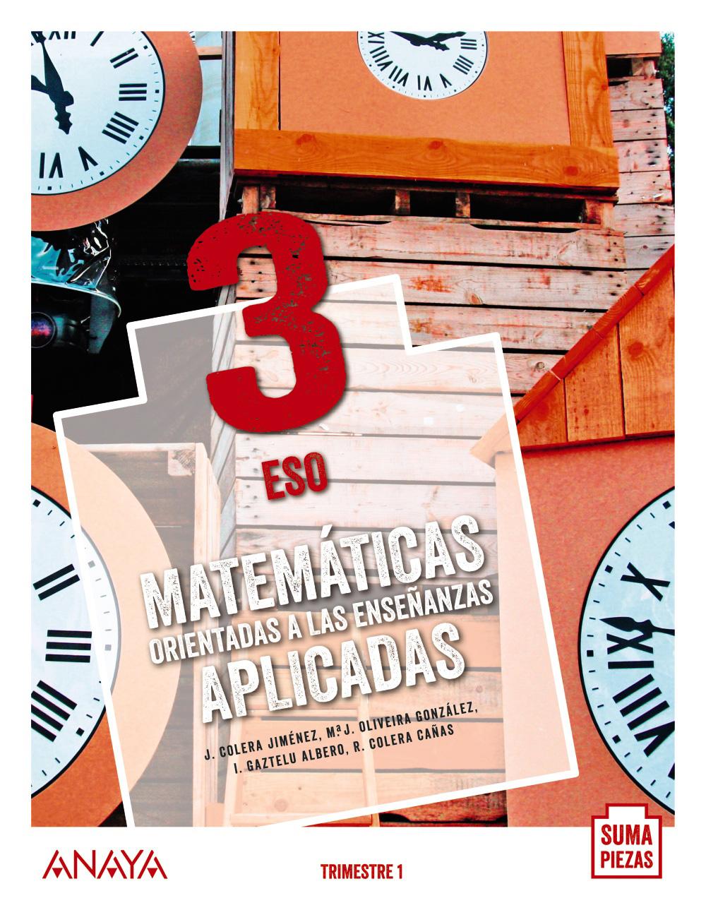 Matemáticas Aplicadas 3º Eso Anaya Text 9788469861424 Abacus Online