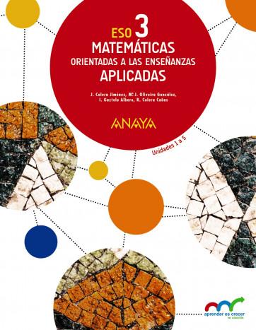 Matemáticas Aplicadas 3º Eso Anaya Text 9788467852165 Abacus Online